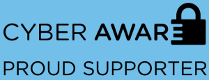 Cyber Aware - Proud Supporter